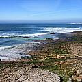 Atlantic Ocean Shore In Estoril by Artur Bogacki