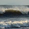 Atlantic Ocean Wave by Rosanne Jordan
