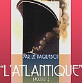 French Travel Poster Advertisement Atlantique by Steven Boland