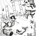 Atlantis Mermaids by Rita Welegala