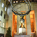Atlas In Rockefeller Center by Guy Whiteley