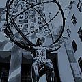 Atlas Rockefeller Center Poster by Dan Sproul