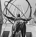Atlas Statue Rockefeller Center by Patrick  Warneka