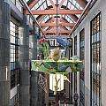 Atrium Of The Central Library In Los Angeles by Carol M Highsmith