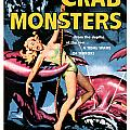 Attack Of The Crab Monster 1957  by Presented By American Classic Art