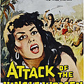 Attack Of The Jungle Women, 1959 by Everett