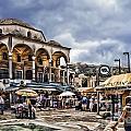 Attiki Metro Station Athens by Justyna JBJart
