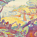 Au Temps Dharmonie by Paul Signac