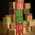 Aubrey - Alphabet Blocks by Edward Fielding