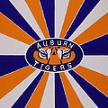 Auburn Tigers by Don Parker