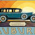 Auburn by Vintage Automobile Ads and Posters