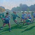 Auckland Rugby by Terry Perham