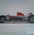 Audi R8 Le Mans by Richard John Holden RA