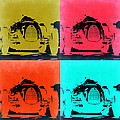 Audi Silver Arrow Pop Art 2 by Naxart Studio