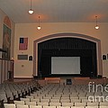 Auditorium In Clare Michigan by Terri Gostola