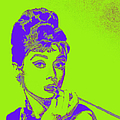 Audrey Hepburn 20130330v2p38 Square by Wingsdomain Art and Photography