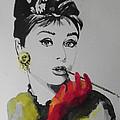 Audrey Hepburn by Chrisann Ellis