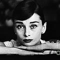 Audrey Hepburn by George Daniell