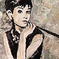 Audrey Hepburn by Karen  Ferrand Carroll