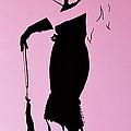 Audrey In Pink by Rebecca Mott