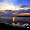 August Sunset Reflection by CapeScapes Fine Art Photography