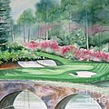 Augusta National 12th Hole by Deborah Ronglien