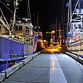 Auke Bay By Night by Cathy Mahnke