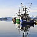 Auke Bay Reflection by Cathy Mahnke