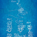Aull Cigarette Ring Patent Art 1938 Blueprint by Ian Monk