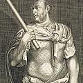 Aullus Vitellius Emperor Of Rome by Titian