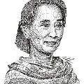 Aung San Suu Kyi by Michael Volpicelli