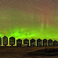Aurora & Airglow Panorama by Alan Dyer