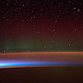 Aurora Australis, Iss Image, 2014 by Science Source