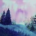 Aurora Borealis I by Ellen Levinson