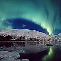 Aurora Over Portage by Daryl Pederson