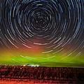 Aurora Startrail  by Paul Brooks