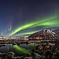 Auroras Reflected by By Frank Olsen, Norway