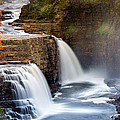 Ausable Chasm Waterfall by Mihai Andritoiu