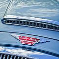 Austin-healey 3000 Mk II Hood Emblem -0567c by Jill Reger