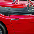 Austin Healey Red by David Stone