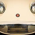 Austin Healey Sprite - Bugeyed - Grille Emblem -0046c by Jill Reger