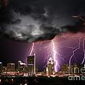 Austin Light Show by Randy Smith