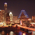 Austin Lights The Night by Terry Rowe