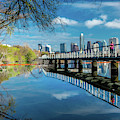 Austin Skyline And Lady Bird Lake - by Panoramic Images
