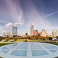 Austin Skyline From The Longs Center For The Performing Arts by Silvio Ligutti