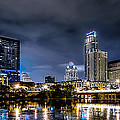 Austin Skyline Hdr by David Morefield