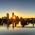 Austin Sunrise by Dave Files