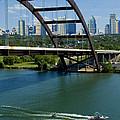 Austin Texas 360 Bridge Vert by La Rue  Rojo