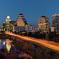 Austin, Texas Cityscape Evening Skyline by Panoramic Images