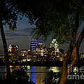 Austin Wooded Skyline by Randy Smith